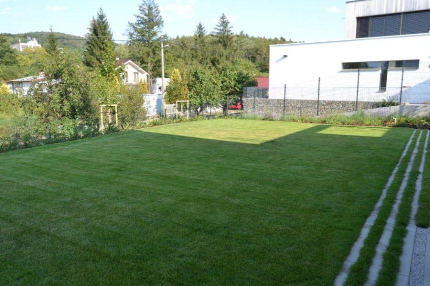 Realizácia záhrady na kľúč – Bratislava – Záhorská Bystrica