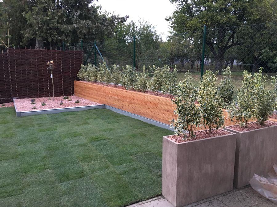 Malá záhradka vo Vrakuni