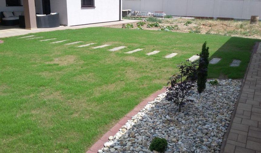 Realizácia záhrady – Opoj