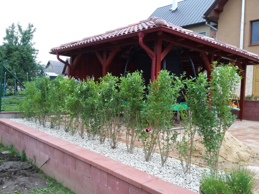 Realizácia záhrady v Považskej Teplej